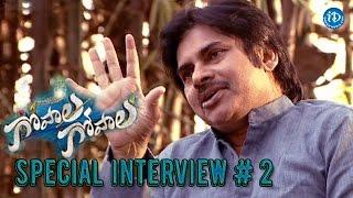 Pawan Kalyan Venkatesh Special Interview Part 2 - Gopala Gopala Movie