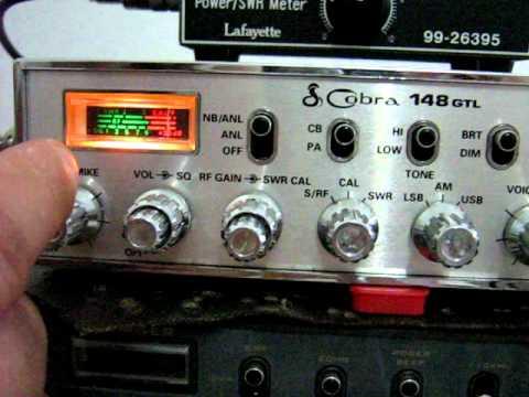 Radio PX Cobra 148 GTL Original Made in Malaysia