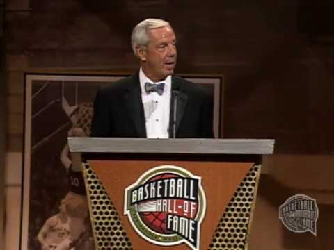 Roy Williams' Basketball Hall of Fame Enshrinement Speech