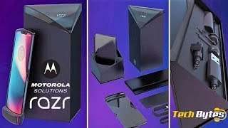 Moto Razr First Look | Foldable and Flip Phone in One | TECHBYTES