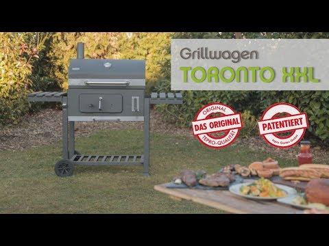Tepro Toronto Holzkohlegrill Bauanleitung : El fuego holzkohlegrill ontario grau cm amazon