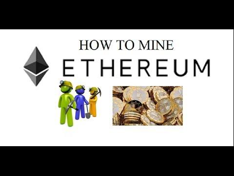 Windows 10 How To Mine Ethereum