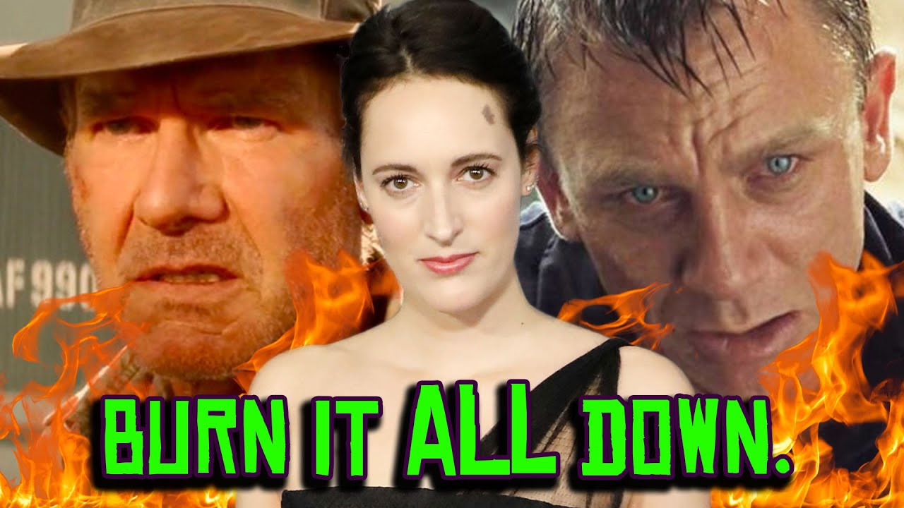 Download Indiana Jones 5 is a Time Travel RETCON?! James Bond DIES at the Box Office?!