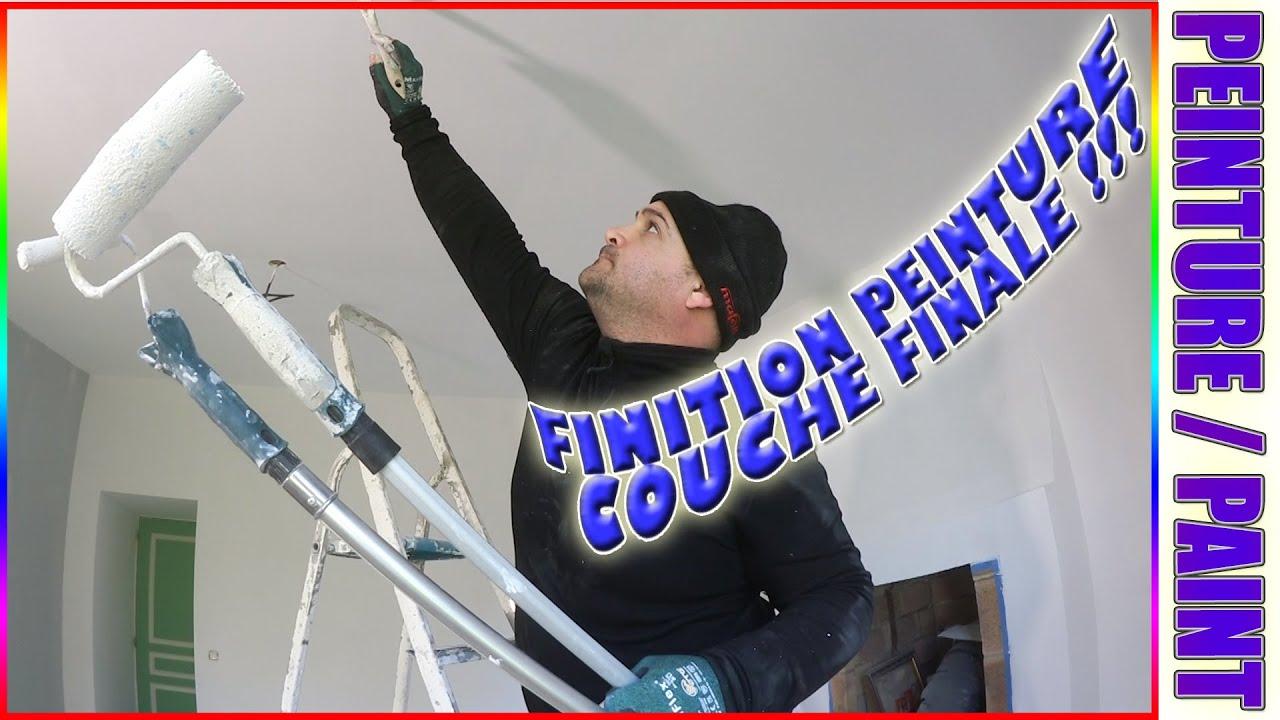 99 Application Couche De Finition Peinture Plafond Mat Effet Pommelé Zolpan Paint
