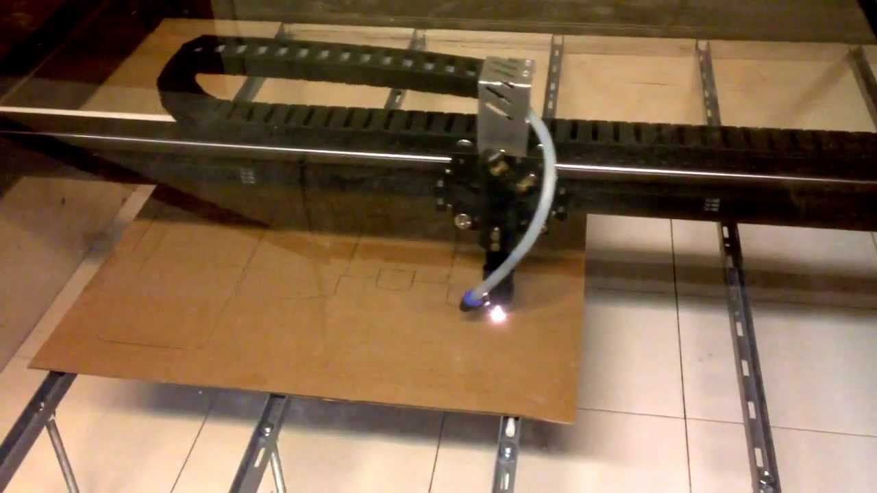 Cutting cardboard box with DIY laser cutter. - YouTube for Laser Cut Cardboard Box  588gtk