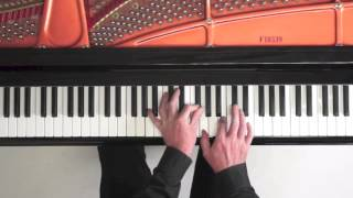 Aria - Bach Goldberg Variations - Piano Tutorial