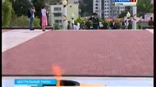 В Сочи зажгли свечи памяти о погибших советских воинах