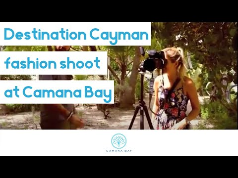 Destination Cayman 2013 Camana Bay Fashion Shoot
