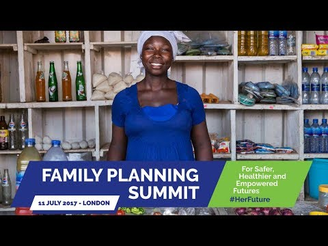 Live: Family Planning Summit in London