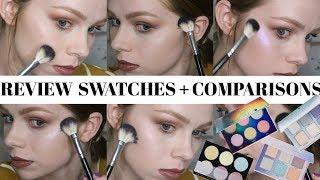 ABH Dream Glow Kit | Face Swatches on Fair Skin