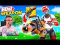 Nick Eh 30 reacts to new RECYCLER in Fortnite!