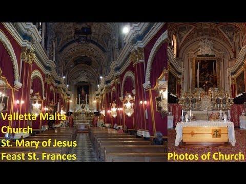 Valletta St. Mary of Jesus - Feast St. Frances 2013 - Photos - 2 Peals (1,2,3,4,5,6) - 6 Bells / 11
