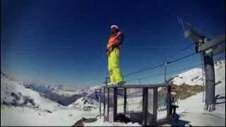 Les 2 alpes avril 2012 - Slowmo GoPro Thumbnail