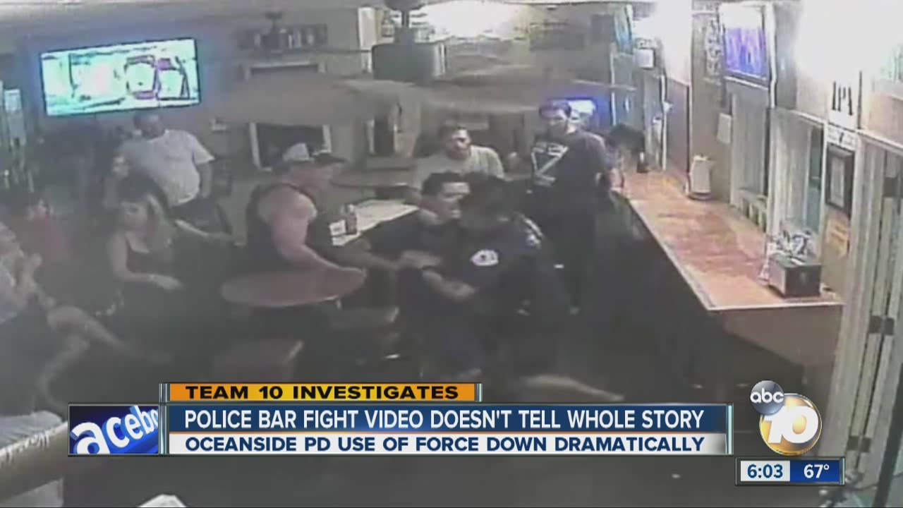 Police Bar Fight Video Doesn T Tell The Whole Story Youtube