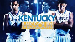 Kentucky Wildcats TV: Missouri 37 Kentucky 86
