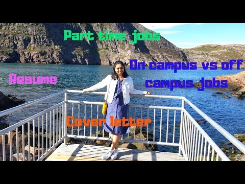Part Time Jobs In St.John's For MUN International Students/ Resume And Cover Letter (EP 206)