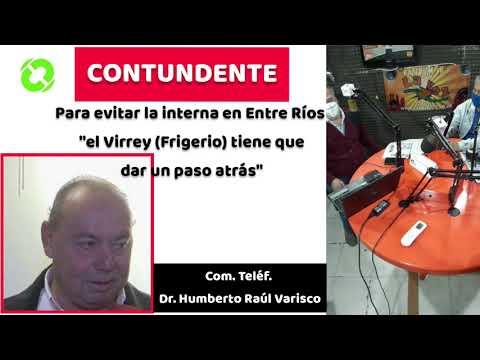 Humberto Raúl Varisco, sobre la candidatura de Frigerio