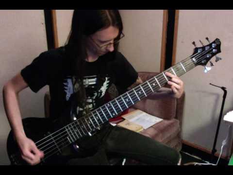 "Colin Marston bass playthrough: Gorguts ""Pleiades' Dust"""