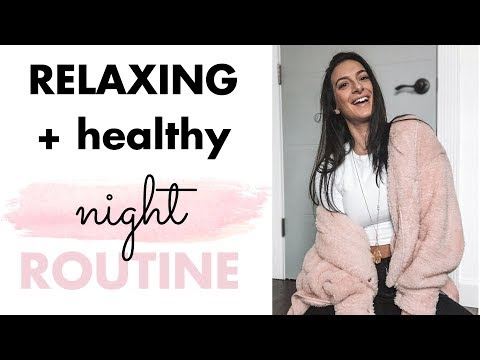 HEALTHY NIGHT ROUTINE // 5 Things to Do Every Night to Fuel Weight Loss