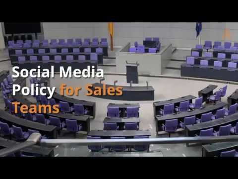 Social Media Policy Examples and Template