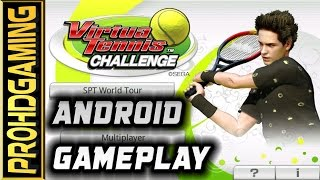 Virtua Tennis Challenge - Android Gameplay - SPT Final  -Very Hard/Hard difficulty [HD]