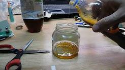 Эксперимент пена Циклопентан Cyclopentan