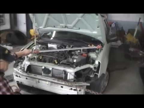 Auto Body Frame Straightening - YouTube