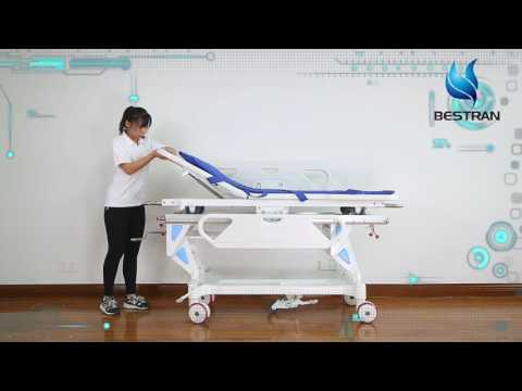Hospital Operating room collecting transport stretcher