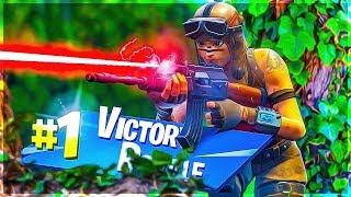 THE LASER BEAM OF FORTNITE!! SOLO 20K Game - Fortnite