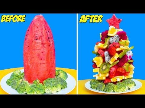 GENIUS FOOD HACKS AND BEST TRICKS || DIY Food Tips and Life Hacks by T-Tips