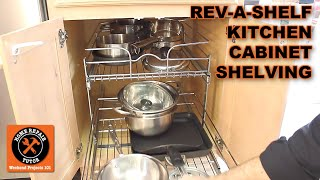 Kitchen Cabinet Organizers by Rev-A-Shelf -- by Home Repair Tutor