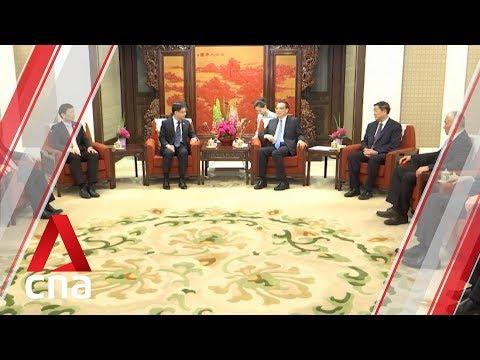 Singapore DPM Heng Swee Keat meets Chinese Premier Li Keqiang