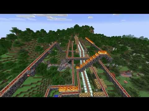 Minecraft Gas Mining Platform Part 2
