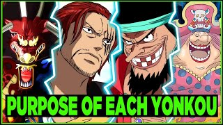 How Each Yonko Affects One Piece Differently