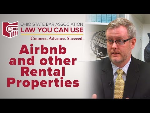 Law You Can Use: Airbnb and Other Rental Properties