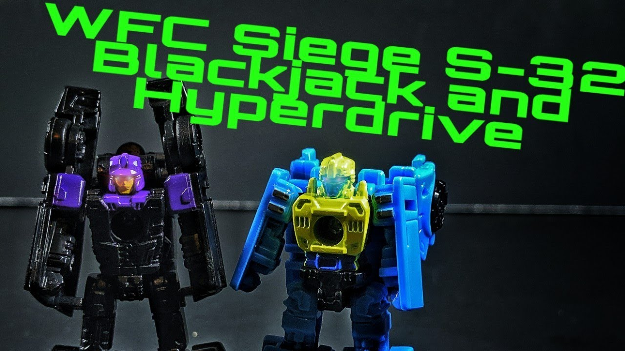 Hasbro Transformers siege Micromaster WFC-S32 Blackjack /& Hyperdrive