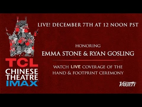 Ryan Gosling & Emma Stone - Hands & Feet Ceremony - TCL Chinese Theater