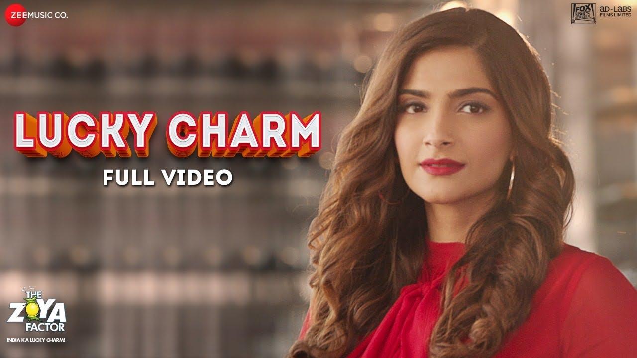 Lucky Charm Full Video The Zoya Factor Sonam K Ahuja Dulquer S Raghuvir Shankar M Sel Youtube