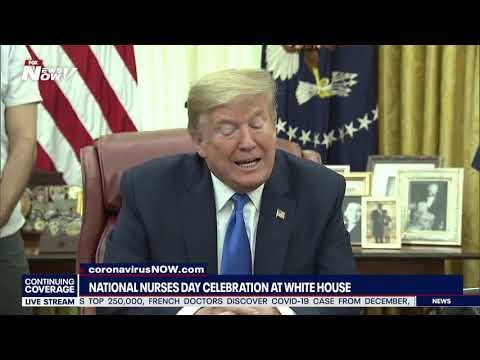 NATIONAL NURSES DAY: Celebration At The White House