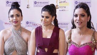 Mirchi Music Award 2018 Marathi Red Carpet Show | Sai Tamhankar, Ankita Lokhande, Amruta Khanvilkar