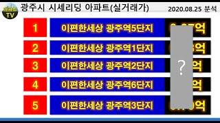 경기 광주시 34평(전용면적 84㎡) 실거래 8억 최초…