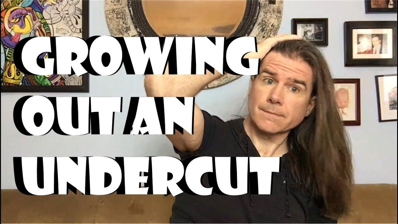 Men S Long Hair Growing Out Your Undercut Youtube