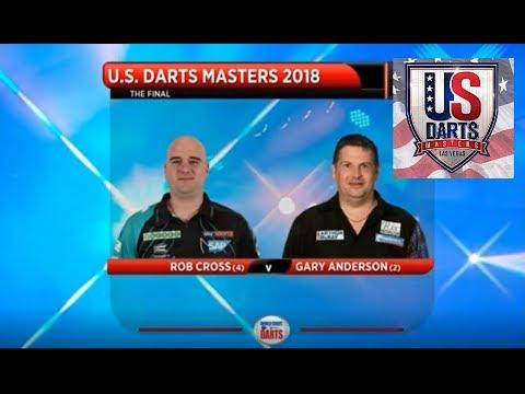 US Darts Masters 2018 Final Cross vs Anderson