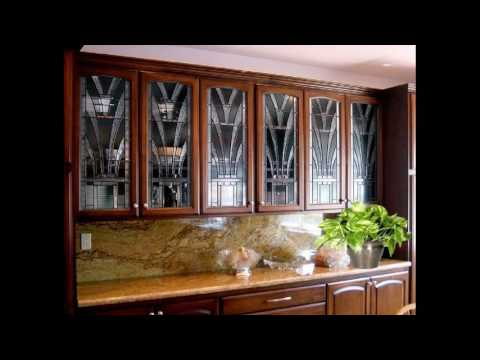 Glass etching designs for kitchen cabinets