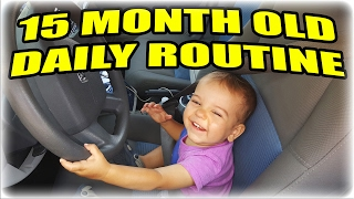 15 Month Old Daily Routine