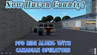 Roblox | Condado de New Haven | PPD Ride junto com operadoras canadenses | Cidade louca!