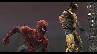 """Прохождение игры Spider-Man Web Of Shadows (PC) Часть 3 """"Черная Кошка"""""""