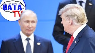 Как Путин с убегающим Трампом навстречался