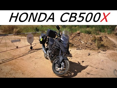 Honda CB500X 2017 On the Road and Off Road