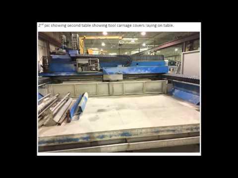used CMS Brembana Double table Maxima - YouTube